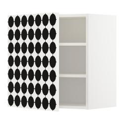 METOD Armario de pared con baldas