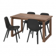 MÖRBYLÅNGA/ODGER Table and 4 chairs