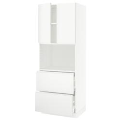 SEKTION/MAXIMERA Hi cb f micro w 2 drawers/2 doors