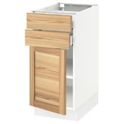 SEKTION/MAXIMERA Base cabinet w door/2 drawers