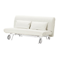 IKEA PS LÖVÅS Sofá cama 2 plazas colchón espuma firme