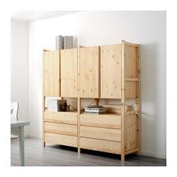 IVAR 2 secciones/armario/cómoda