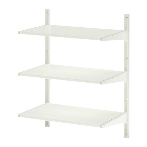 Algot wall upright/shelves.
