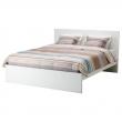MALM Armazón de cama alta Queen + viga