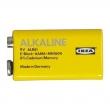 ALKALISK Pila alcalina, 6LR61