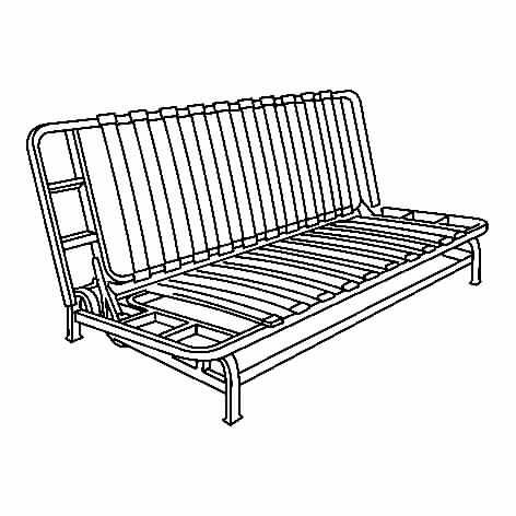 Exarby estructura sof cama 3 plazas - Estructura sofa cama ...