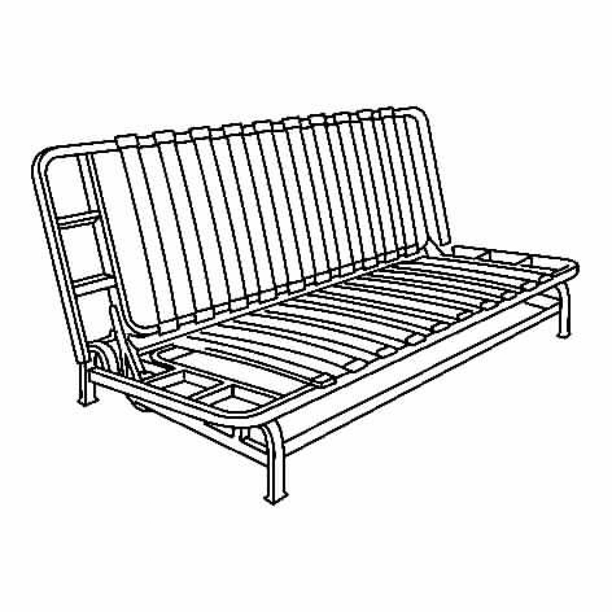 Exarby estructura sof cama 3 plazas for Estructura sofa cama