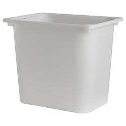3 x TROFAST Caja blanco