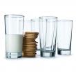 GODIS Juego de 6 vasos de vidrio liso, 14oz