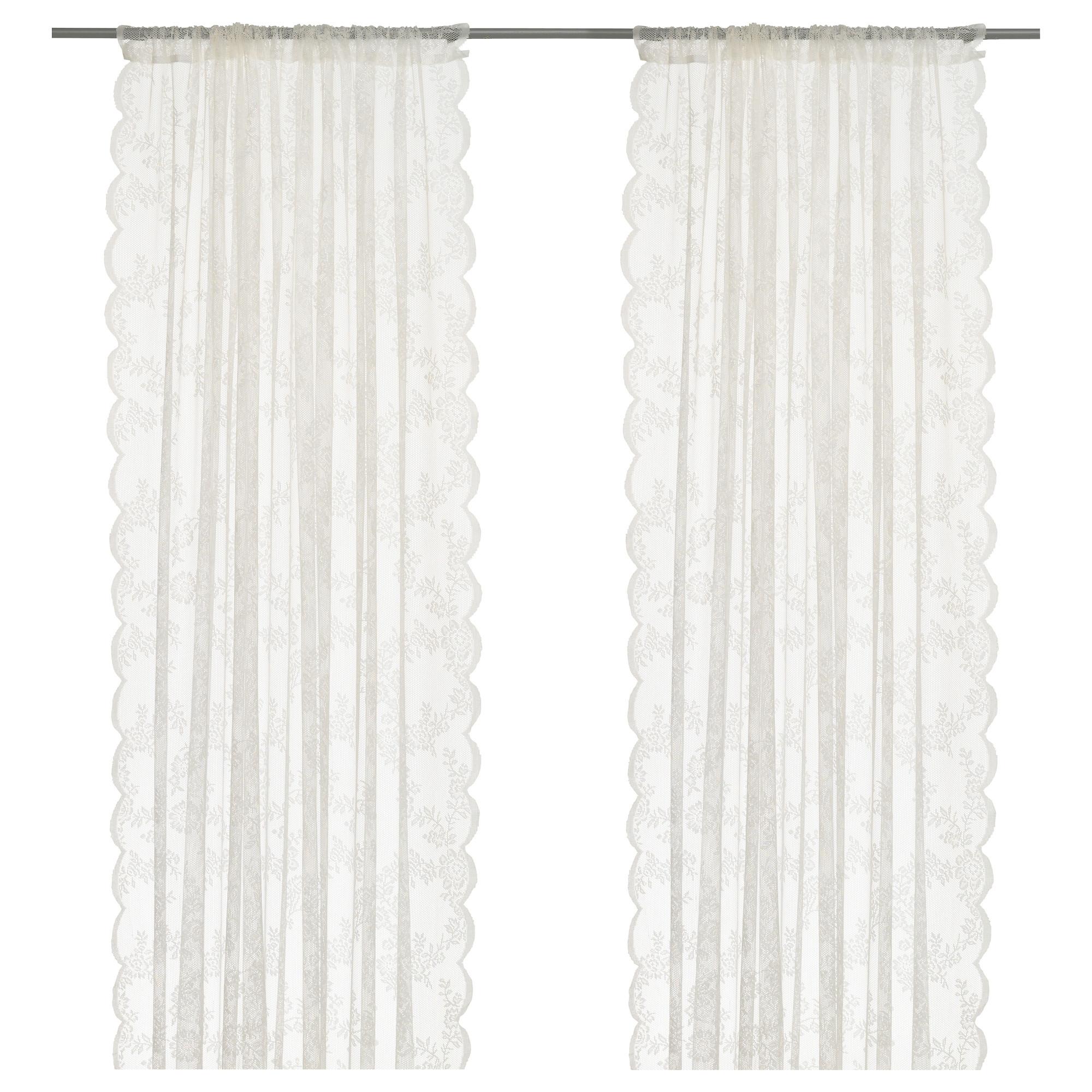 ALVINE SPETS cortinas transparentes, 1 par