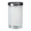 DROPPAR Recipiente vidrio con tapa, 1.8lt