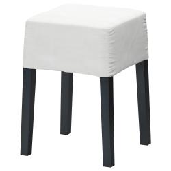 NILS Estructura taburete, 47 negro