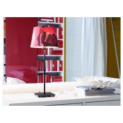 HEMMA Pie para lámpara de mesa negro E14