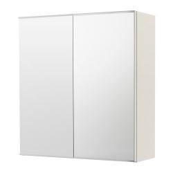 LILLÅNGEN Clóset de espejo con 2 puertas