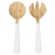 GRIPANDE Cubiertos bambú para ensalada, 2 piezas