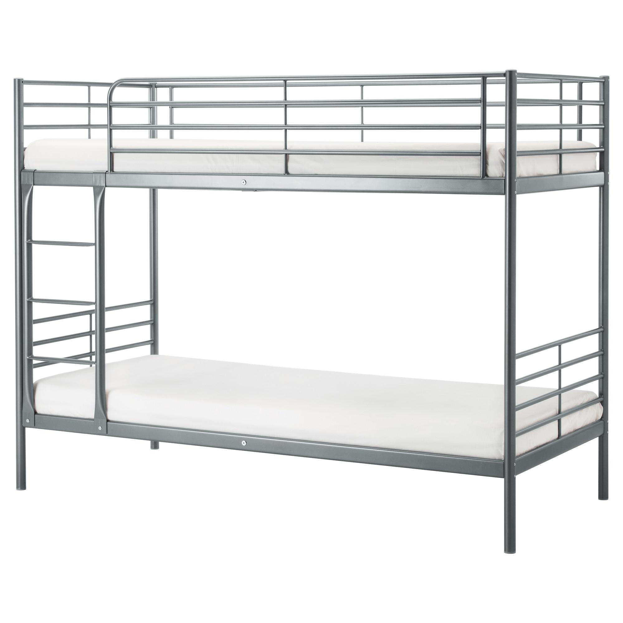 surprising Ikea Grey Bunk Bed Part - 1: SVÄRTA bunk bed frame