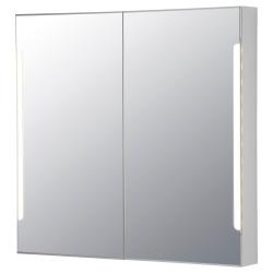 STORJORM Arm espejo 2 pt/ilum integrada