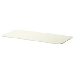 1 x BEKANT Tablero para escritorio 140x60 cm blanco
