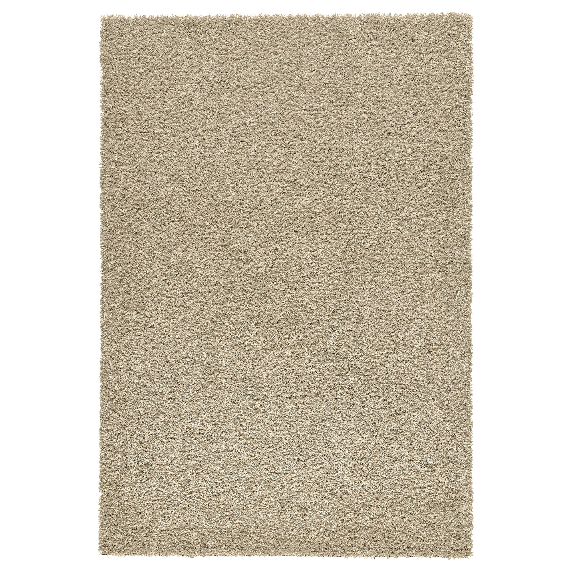 Hampen alfombra pelo largo 133x195 beige - Alfombra estrellas ikea ...