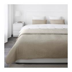 KARIT Colcha y 2 fundas almohada