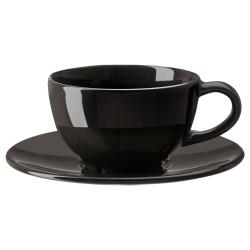 VARDAGEN Taza café/plato, 5 oz