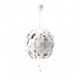 IKEA PS 2014 Lámpara de techo Ø52cm blanco/gris plata