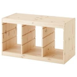 1 x TROFAST Estructura baja de pino