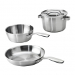 SENSUELL 4-piece cookware set