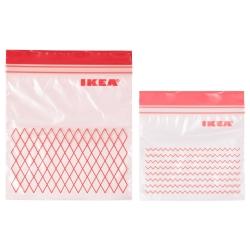 ISTAD Bolsa de plástico, 60 unds. 1l / 0.4l