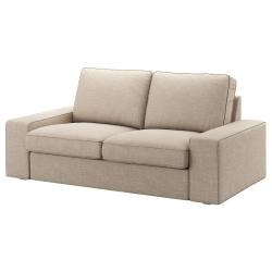 1 x KIVIK Funda sofá 2 plazas HILLARED beige