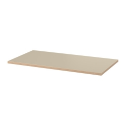 1 x LINNMON Tablero para escritorio 150x75 cm beige