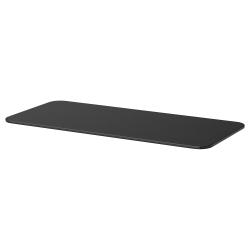 1 x BEKANT Tablero para escritorio 140x60 cm negro