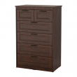 SONGESAND Chest of 6 drawers