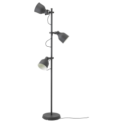 HEKTAR Floor lamp with 3-spot