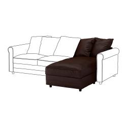 1 x GRÖNLID Módulo chaise longue