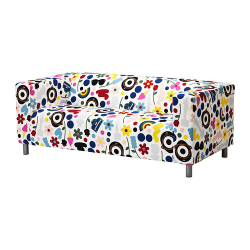 1 x KLIPPAN Funda para sofá de 2 plazas