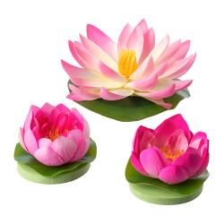 SMYCKA Flor artificial flotante, juego 3
