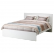 MALM Cama Queen + tablillas Luröy
