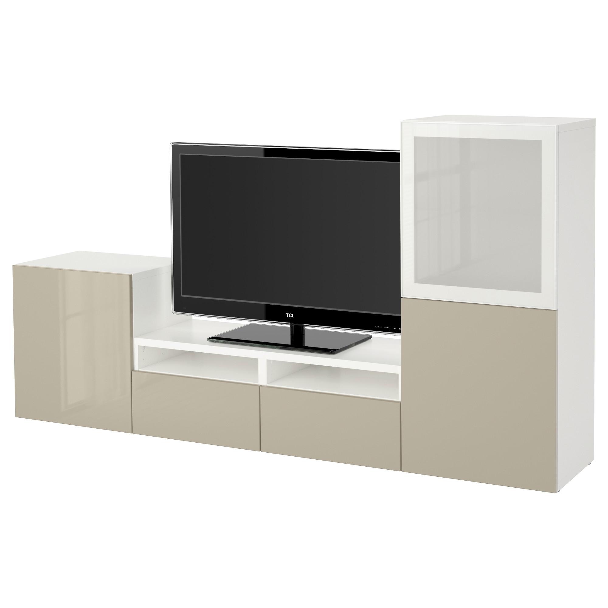Best tv storage combination glass doors for Besta fotos