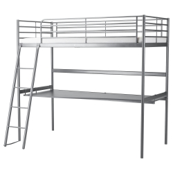 SVÄRTA Armazón de cama alta+tablero