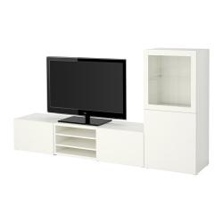 BESTÅ Mueble TV con almacenaje