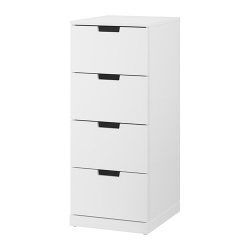 NORDLI Chest of 4 drawers