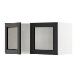 METOD Armario de pared cocina con puertas