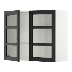SEKTION Vitrina de pared+2 puertas