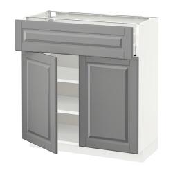 METOD Armario bajo cocina 2 puertas cajón