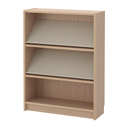 BILLY/BOTTNA Bookcase with display shelf