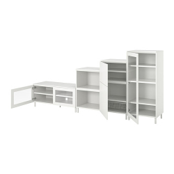 PLATSA Mueble TV + almacenaje