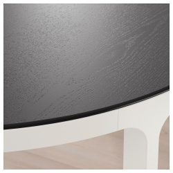 BEKANT Mesa de reuniones 420x140 cm negro/blanco