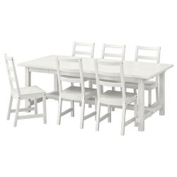 NORDVIKEN/NORDVIKEN Mesa y 6 sillas