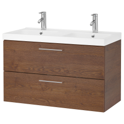 Wash-stand with 2 drawers